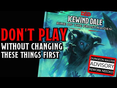 Review of Icewind Dale: Rime of the Frostmaiden – Dungeons & Dragons