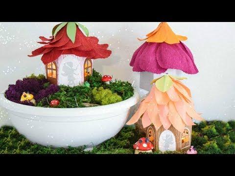DIY Fairy Garden House Paper Luminaries