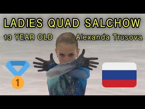 LADIES QUAD JUMP? | Alexandra Trusova | Figure Skating Mashup
