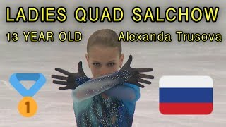LADIES QUAD JUMP? | Alexandra Trusova | Figure Skating Mashup