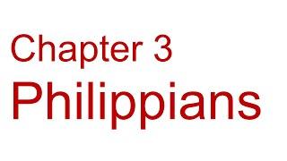 Philippians Chapter 3