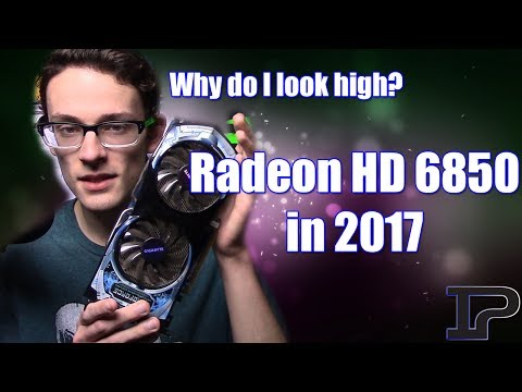 1080p Gaming Performance for $35? (Radeon HD 6850 in 2017)