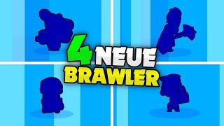 4 NEUE BRAWLER gezogen! 🔥 | Box Opening ESKALIERT! | Brawl Stars deutsch
