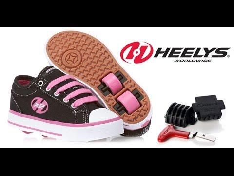 Роликовые кроссовки Heelys - как кататься - YouTube c2de3a507aec3