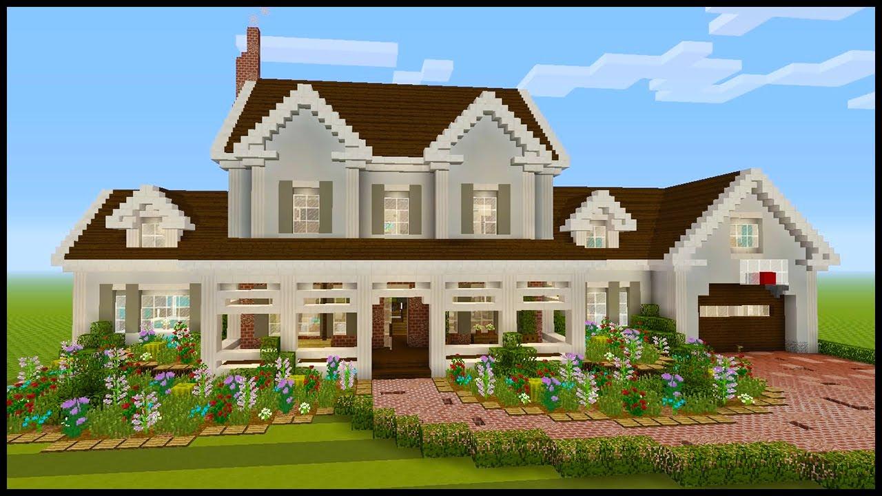 minecraft how to build a suburban house part 2 youtube rh youtube com