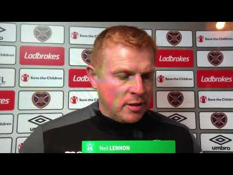 Neil Lennon post-match interview