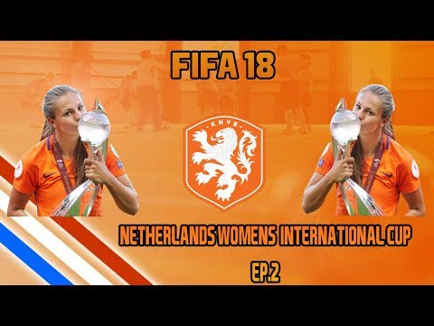 FIFA 18 Netherlands Womens International Cup - Ep.2 Art of the Longshot