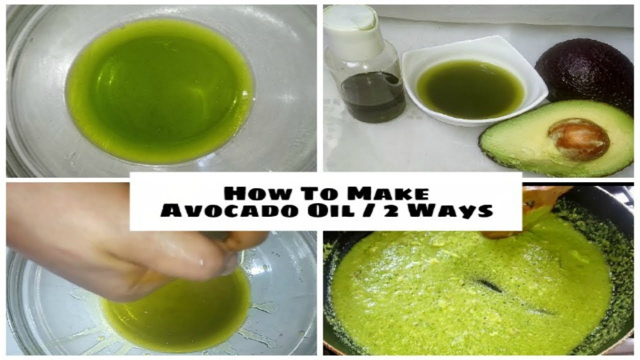 How To Make Avocado Oil For Skin AND Hair - 9 methods