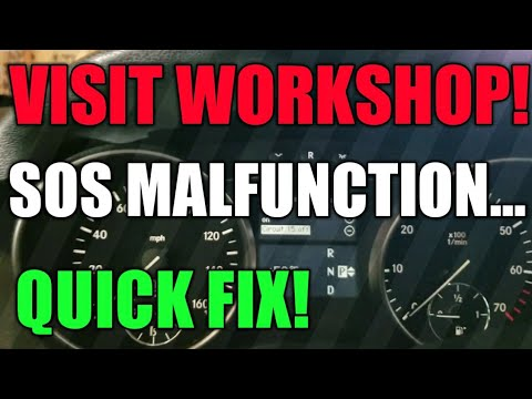 Mercedes SOS Malfunction Visit WorkShop |...