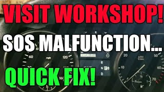Video Mercedes SOS Malfunction Visit WorkShop | Quick Fix download MP3, 3GP, MP4, WEBM, AVI, FLV September 2018