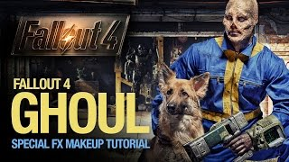 Fallout 4 ghoul special fx makeup tutorial