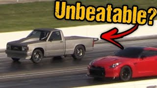 Turbo Grudge Truck Lights the Boards, It's INSANELY FAST!!