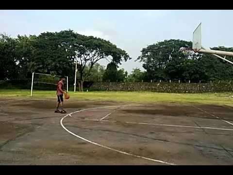 Perfect shot in basketball 3 pointer (#THE CHAPMION)