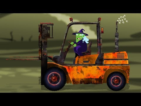 Scary ForkLift | Formation and Uses | Scary Construction Vehicles
