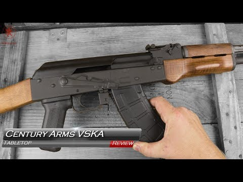 Century Arms VSKA Tabletop Review and Field Strip