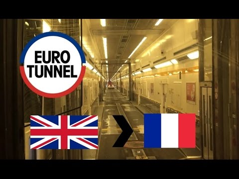 Eurotunnel Le Shuttle: From UK To France (Full Journey On Coach) (Saturday: 03/12/2016)