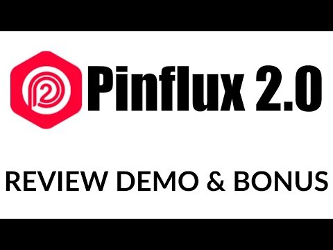 Pinflux 2.0 Review Demo Bonus - Most Powerful Pinterest Automation Software. http://bit.ly/2ZtGm1W