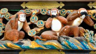 Homenaje a Los Tres Monos Sabios -  Mizaru - Kikazaru - Iwazaru