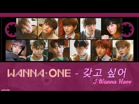 [Thaisub+Karaoke] Wanna One - 갖고 싶어 (I Wanna Have)