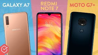 Moto G7+ vs. Redmi Note 7 vs. Galaxy A7 | qual é o melhor? - Comparativo