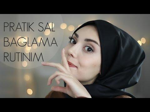 PRATİK ŞAL BAĞLAMA RUTİNİM || Hijab Tutorial