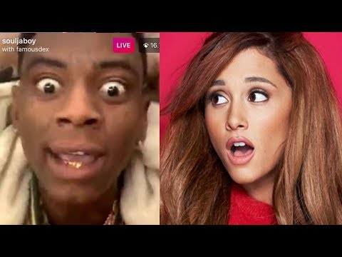 Soulja Boy Goes Off on Ariana Grande For Stealing Swag On 7 Rings