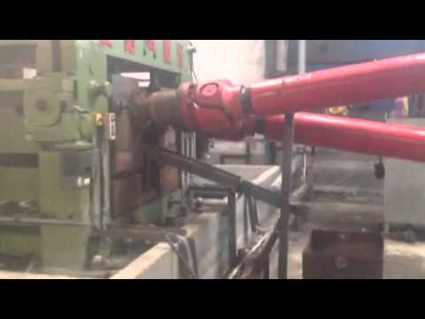 120 mm Steel Ball Skew Rolling Machine forge balls in Indonesia