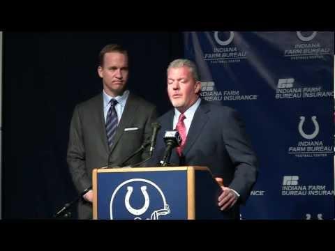 Jim Irsay on releasing Peyton Manning