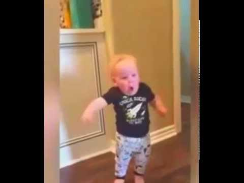 Kid Running Funny Meme : Baby running baby so cute his father made us laugh so hard turn