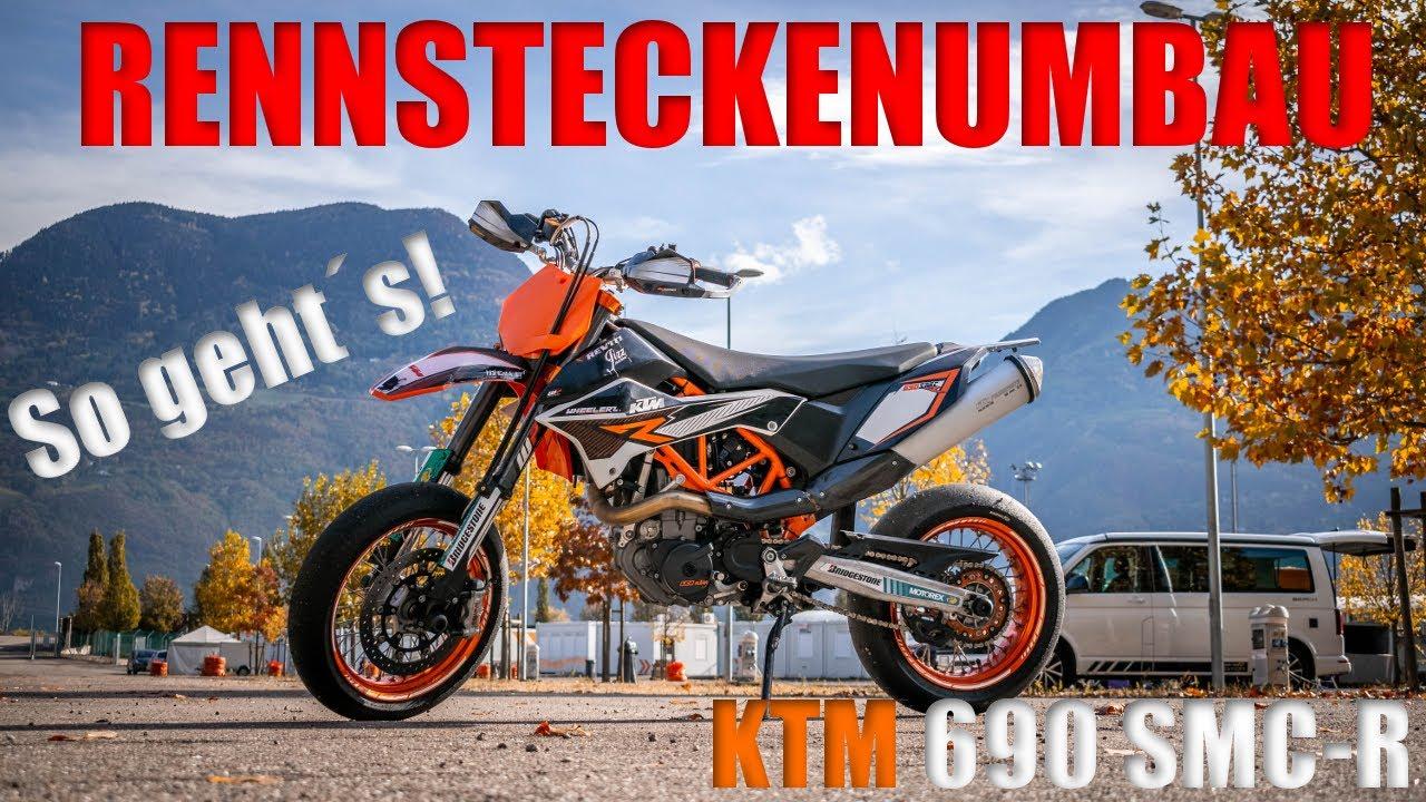 Racingadapter f/ür KTM 690 SMC//R Motea Assen M10 x 1.5 Titan