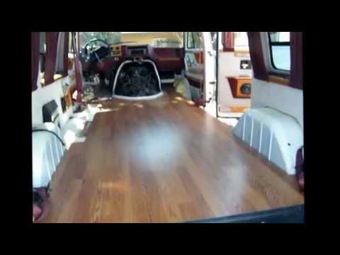 Chevy Express Van >> Laminated Floor On Conversion Van - YouTube