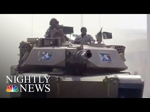 U.S.-Backed Iraqi Forces Continue Assault On Mosul, Retake Airport  NBC Nightly News
