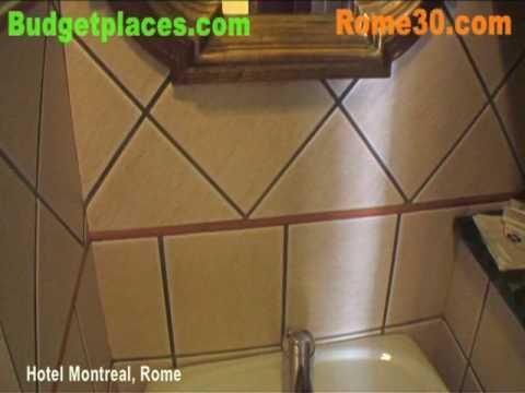 Hotel Montreal, Rome - Budgetplaces.com & Rome30.com