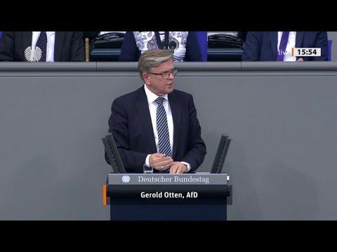 """Bundestag. """"Die Türkei stellt sich außerhalb des Völkerrechtes."""" Gerold Otten, AfD 24.10.2019"""