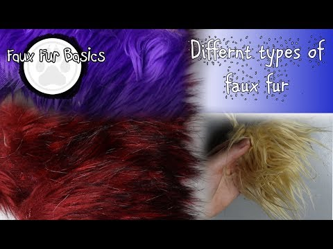 Materials 101 -  Different types of faux fur