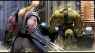 Wolverine VS Hulk AMV