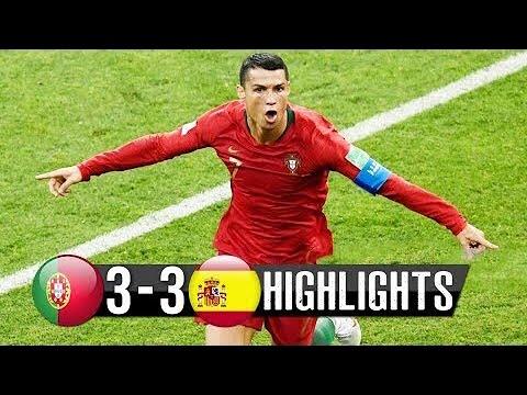 İspanya 3-3 Portekiz Dünya Kupası HD maç özeti