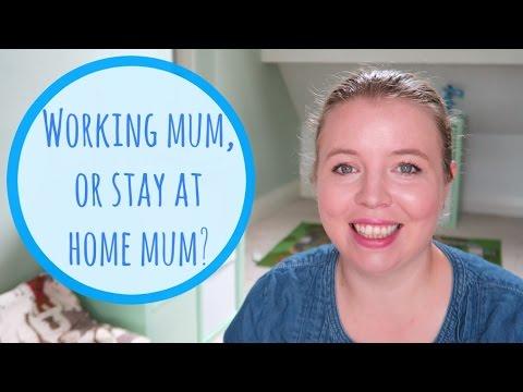 Working mum or stay at home mum? #workingmum