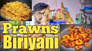 കൊതിയൂറും ചെമ്മീന് ബിരിയാണി | Restaurant Style Prawns Dum Biriyani Recipe in Malayalam