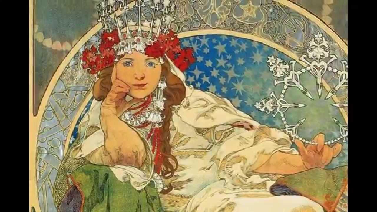 alphons maria mucha artiste peintre art nouveau affichiste illustrateur youtube. Black Bedroom Furniture Sets. Home Design Ideas