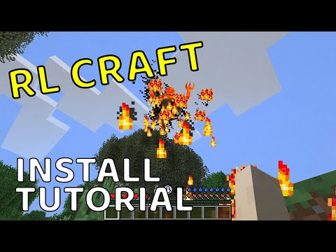 How To Manually Install RLCraft In Minecraft! (Java Edition/Without Twitch)