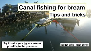 BREAM on LURES, CANAL fishing, tips and tricks