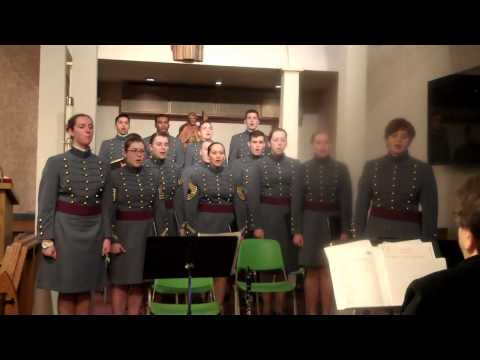 West Point Cadet Catholic Choir Alma Mater Feb 2013 St Rocco