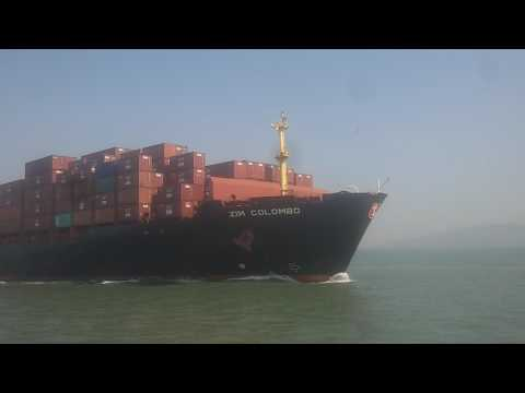 Zim Colombo saild from Nhava sheva port