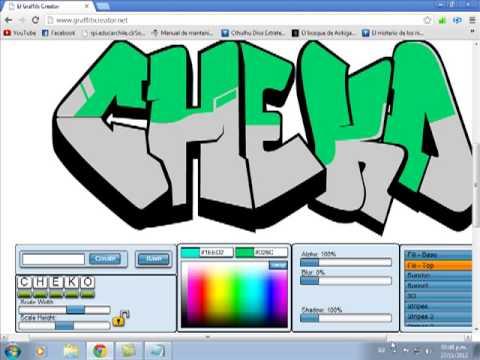 Pagina para crear graffitis youtube for Programa para crear habitaciones