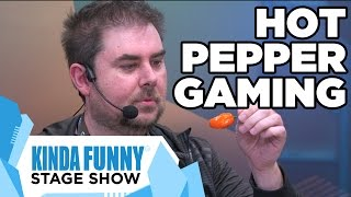 Hot Pepper Gaming With Jeff Gerstmann! - Kinda Funny Stage Show E3 2015
