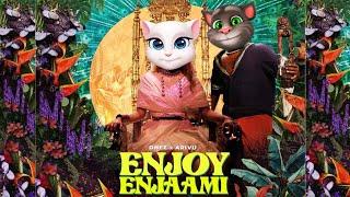 Enjoy Enjaami - Dhee ft. Arivu / Animated Folk Song / Kalavum Katru Mara Thumb