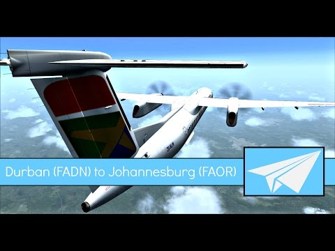 [FSX:SE] South African Express | Dash 8 Q400 | Durban (FADN)