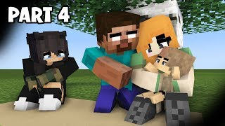 Download Monster School: PART 4 Herobrine's Life: SAD STORY Mp3 and Videos