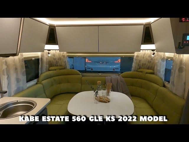 Kabe Estate 560 GLE KS - 2022 model - Ny modelserie fra Kabe
